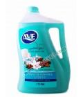 مایع دستشویی 4 لیتر جدید اوه - آبی